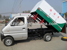 HOT SALE Chang'an Yandi SZD5020MLJ dump sealed mini garbage trucks for sale