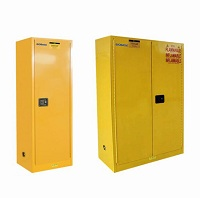 Safety Fireproof Flammable chemicals storage cabinet used in Lab and Medical