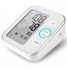 Hospital blood pressure monitor / blood pressure device for upper arm with WHO function