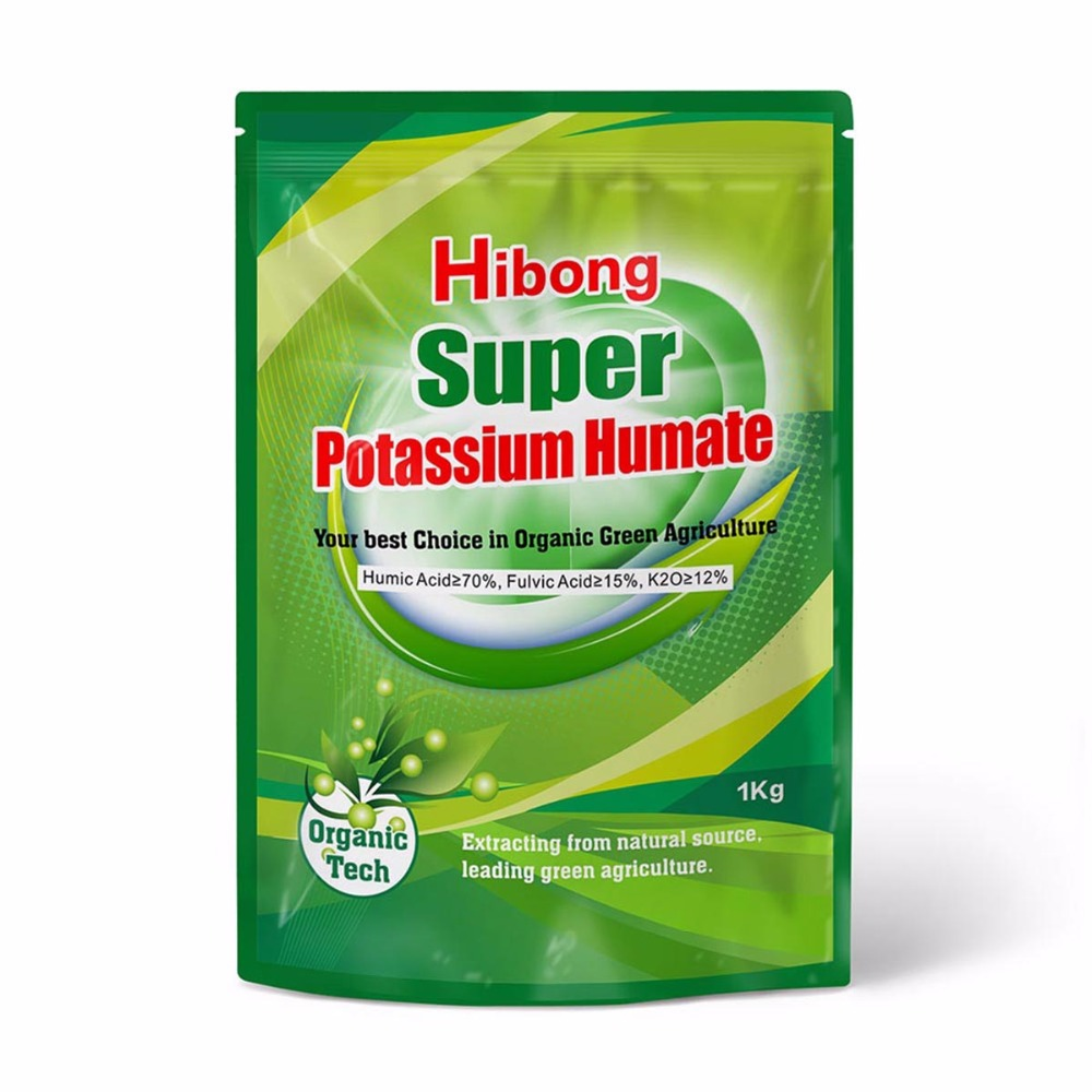 Humic Acid Potassium Humate Fertilizer from Leonardite