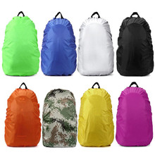 1pc High Quality Waterproof Dustproof Outdoor Travel Camping Hiking Activities Backpack Bag Luggage Rain Cover Accessory