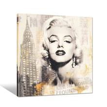 Marilyn Monroe Canvas Poster/Star Wall Picture for Hang/Vintage Canvas Wall Art Wholesale