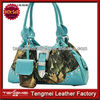 2014 New Design Western Turquoise Leather Lady Handbag For Sale