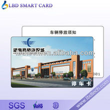 Hot Sell Plastic/PVC RFID Magnetic Stripe Smart Card