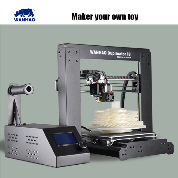 WANHAO Multi-purpose printing prototype machine for 3D object printing machine good digital 3d printer