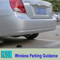 Parking Lot wireless parking sensor system by RF detection