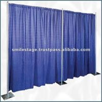 2012 RK decoration telescopic portable pipe and drape