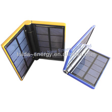 High Capacity Portable Solar power bank solar charger travel charger Kit with lighting function