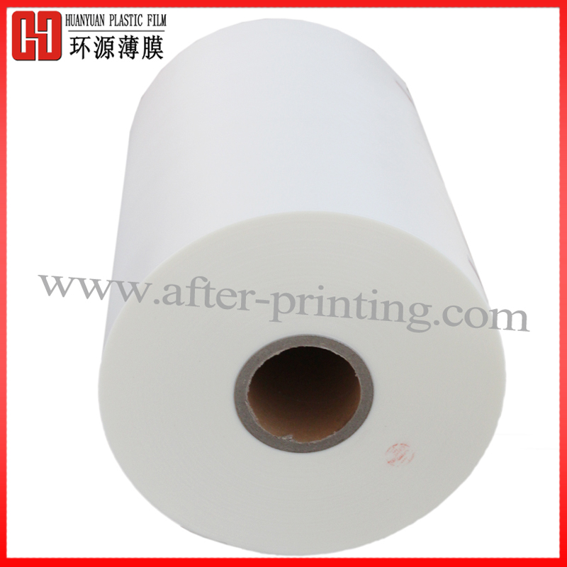 Gloss BOPP Thermal Lamination Micron Film for Paper bag