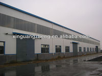 steel structure light weight warehouse for renting