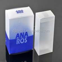 2016 hot sale plastic transparent PP box for gift packing