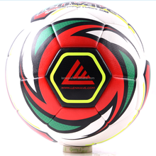 Lenwave brand promotional soccer professional match custom leather soccer ball