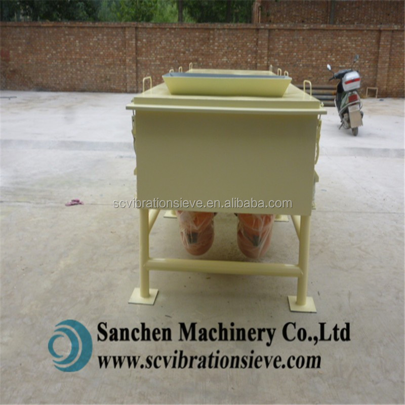Vibrating Screening Machine for Sand Wood Chips Grain Sawdust