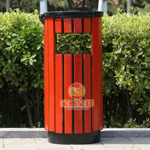 solar intelligent trash compactor single tub garbage can stand advertising trash bin