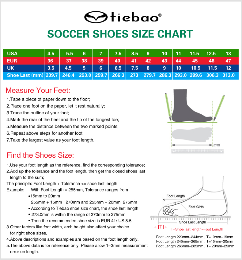 TIEBAO A8324A HG TPU Outsole Football Shoes Women Men Outdoor Lawn Soccer Boots Lace Up Football Boots Soccer Cleat Sneaker