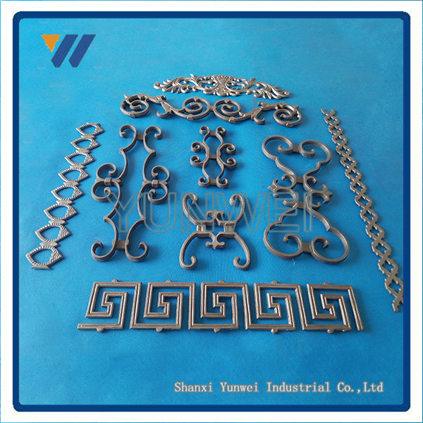 Best Selling Decorative Cast Iron Modern Steel Gates Design