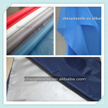 Factory price 190t waterproof fabric 100% polyester taffeta