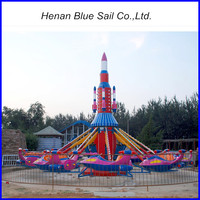 Funfair Rides for Sale ! Outdoor Kids Game Cheap Amusement Park Rotating Airplane Rides