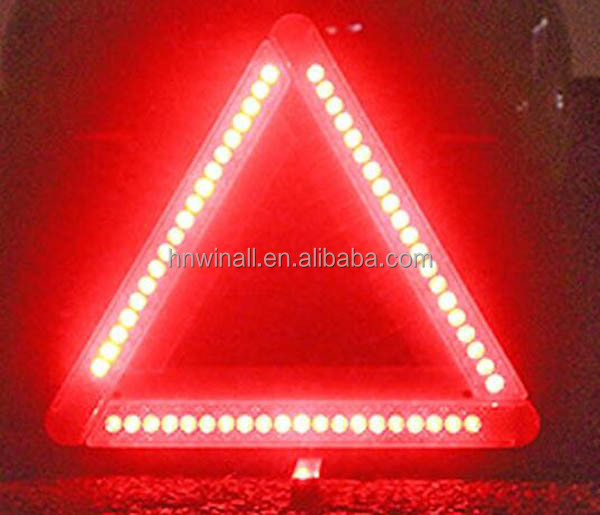 Car tools Triangle led flashing warning light