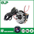 Mini infrared hd 720P night vision H 264 ir camera usbELP-USB100W04H-RL36