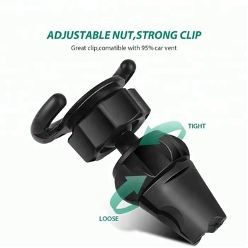 Best Seller Car Accessories Twist Lock Settings Pop Phone holder Sockets Car Vent Clip For HuaWei Smartphone