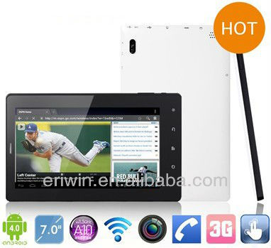 ZX-MD7008 7 inch capacitive touch built-in 3G tablet pc