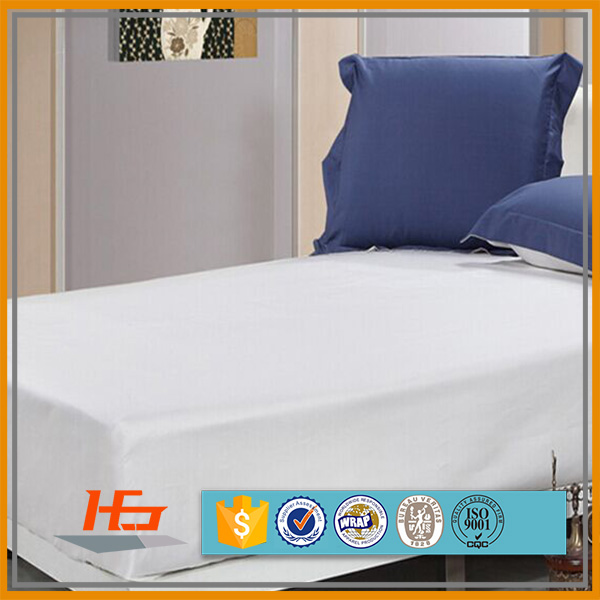 Cheap brushed polyester microfiber hospital hotel bed mattress cover protector