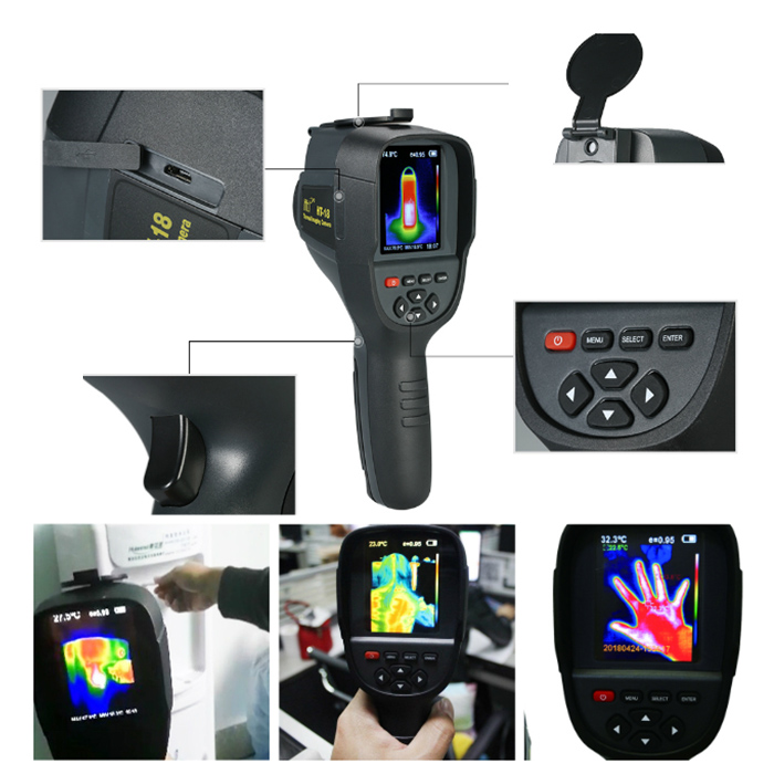 Handheld thermal camera thermal imager IR infrared thermometer temperature thermal imaging tool
