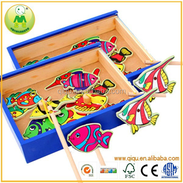 Hot Funny Play Wooden Box Fishing Games <strong>Toys</strong> For Toddlers