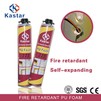 Assessed Supplier fireproof expanding 750ml pu foam sealant