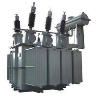 S11 630KVA 3 phase double winding 66KV oil immersed transformer