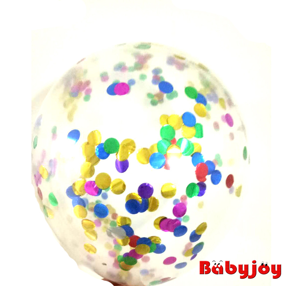 New arrival! 18-inch giant transparent confetti balloons