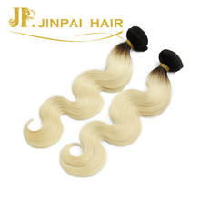 JP Hair 100% Factory Price Body Wave 1b Blonde Cheap Ombre Hair Extension