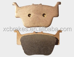 sintered brake pads FA 373 for HONDA TRX 450 R TRX 650/680 with more than 10 years of export to Europe and America market