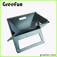 Custom Logo Small Size X Shaped Barbecue Grill , High Quality Outdoor Grill Design Factory , Party Indoor Charcoal BBQ Grill Set