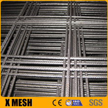 BS 4483 standard A142 welded reinforcing wire mesh with 4.8x2.4m size for concrete