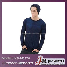 Latest Two Tone Gradient Pullover 2013 New Fashion Design Sweater For Men