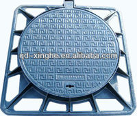 ductile iron manhole covers, locking manhole covers