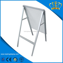 outdoor Aluminum Snap frame Single Double side Poster stand