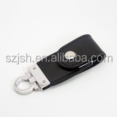 Best Price 16GB black Leather USB flash drive for gifts and promotion Hot Sale Leather USB flash Memory 8GB 32GB USB pendrive