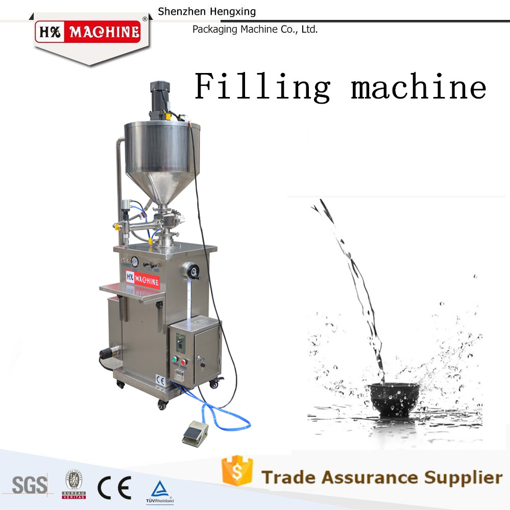 Automatic Paste And Liquid Dispensing Filling Machine With Mixer