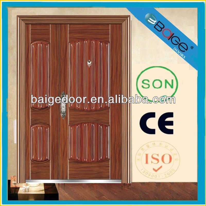 BG-S9214B Mini double door/Lowes steel entry doors