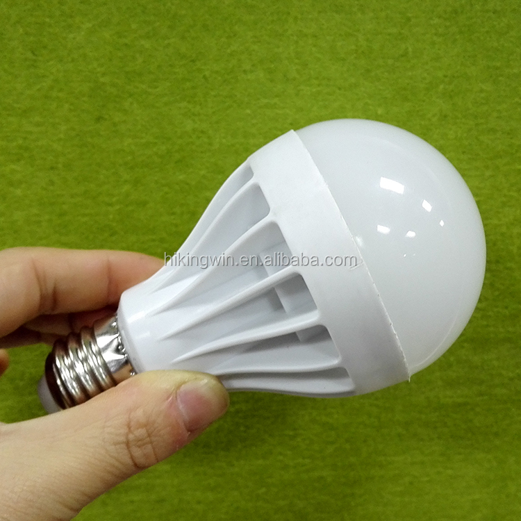 E27 Energy Saving LED Bulb Light Lamp 3/5/7/9/12W Cool Warm White 110V / 220V plastic led bulb