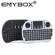 Rii Mini i8 2.4G Original Wireless Keyboard Gaming Fly Air Mouse Touchpad For Android TV BOX Game Keyboard
