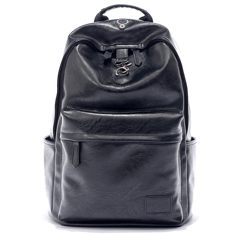 Leisure Rucksack leather Business Backpack Men's backpack bag
