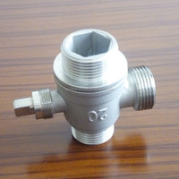 south korea ISO9001:2008 & CE Cangzhou factory stainless steel cf8m 3 way ball valve manufacturer