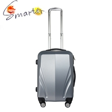 Matt Finished Lightweight Cool Luggage In Silver Color