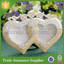 Factory Direct Custom Fashion Creative Poly resin Love Picture Photo Frame