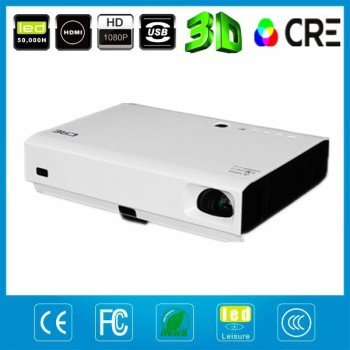 Full hd portable projector for home and travel 1280*800 digital video projector DLP
