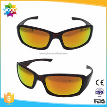 Design your own brand sports golf outdoor hiking sunglasses with optical insert lens